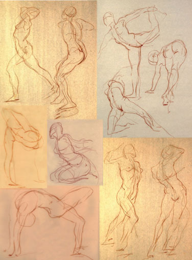 improve your figure with gesture drawings artists network