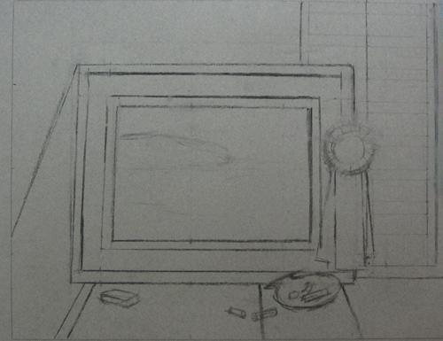 Step 1, The Winner (pastel) by Michael Chesley Johnson | artistsnetwork.com
