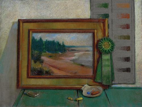 The Winner (pastel) by Michael Chesley Johnson | artistsnetwork.com
