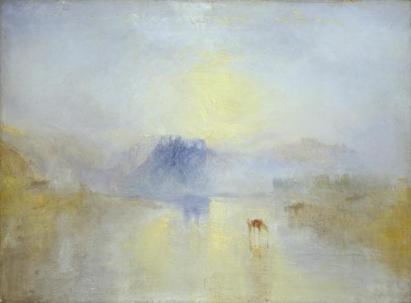 'Norham Castle, Sunrise' by JMW Turner | ArtistsNetwork.com