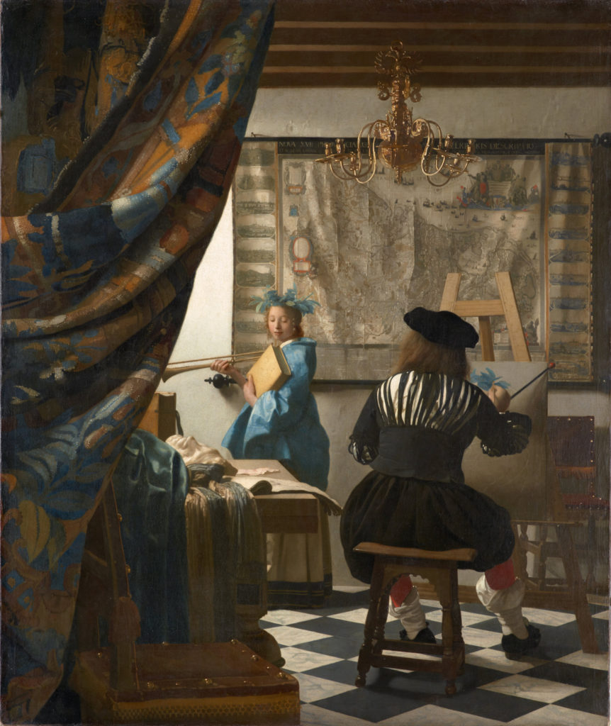 Johannes Vermeer | Allegory in Art | Figurative Realism | Artists Network