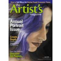 Portrait painting in The Artist's Magazine