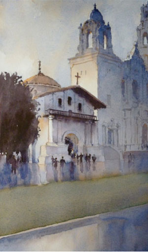 Watercolor painting techniques | Michael Reardon, ArtistsNetwork.com