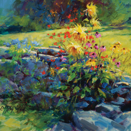Acrylic painting | Julie Gilbert Pollard, ArtistsNetwork.com