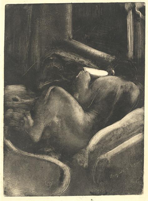 Edgar Degas   Woman Reading   Artist's Network