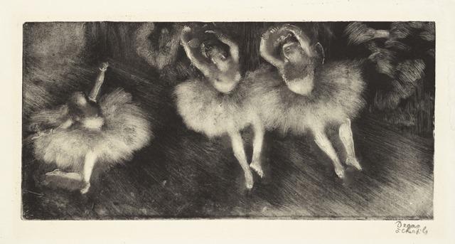Edgar Degas   Three Ballet Dancers   Artist's Network