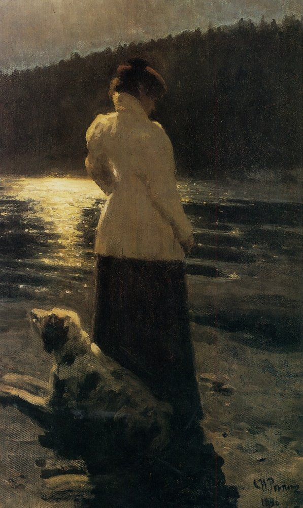 Ilya+Repin+-+Moonlight