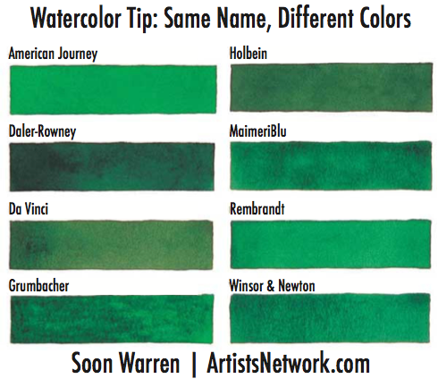 Watercolor painting tips | Soon Warren, ArtistsNetwork.com