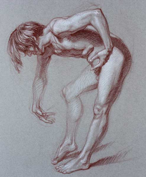 Figure drawing | Brent Eviston, ArtistsNetwork.com