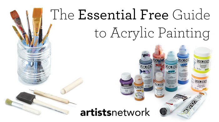 Are you doing acrylic painting the right way? Find out in this free tutorial.