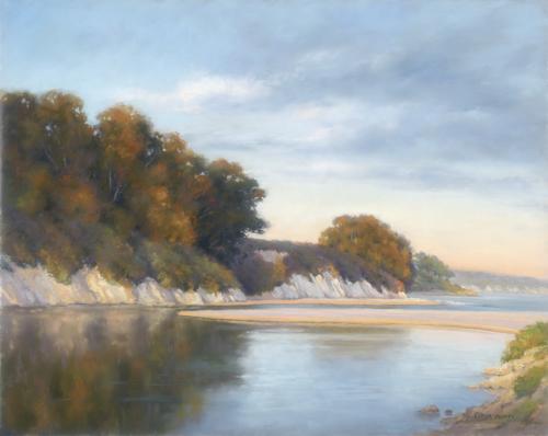 pastel-landscape-Mutti-The-Golden-Hour-16-x-20 | artistsnetwork.com