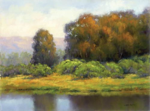 The Mystery of the Trees (pastel, 12x16) by Linda Mutti