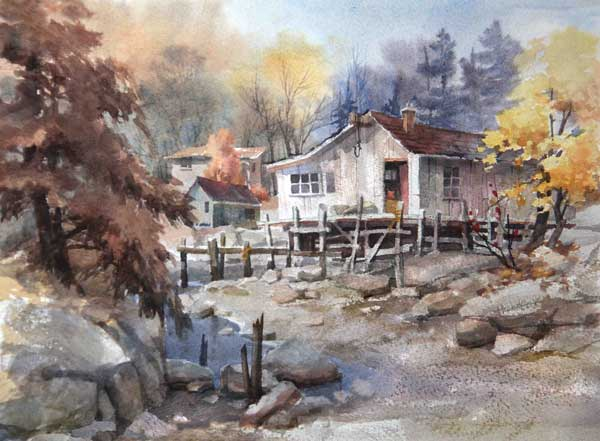 Watercolor techniques | Johannes Vloothuis, ArtistsNetwork.com