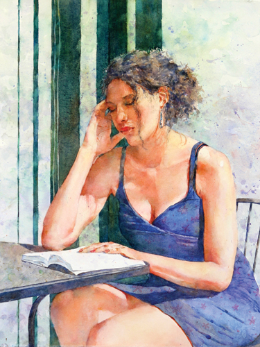 Captivated (watercolor) by Carol McSweeney | artistsnetwork.com