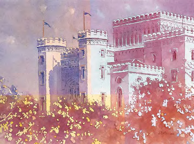 With this watercolor instruction you will learn how to build up and create luminous mid tones.
