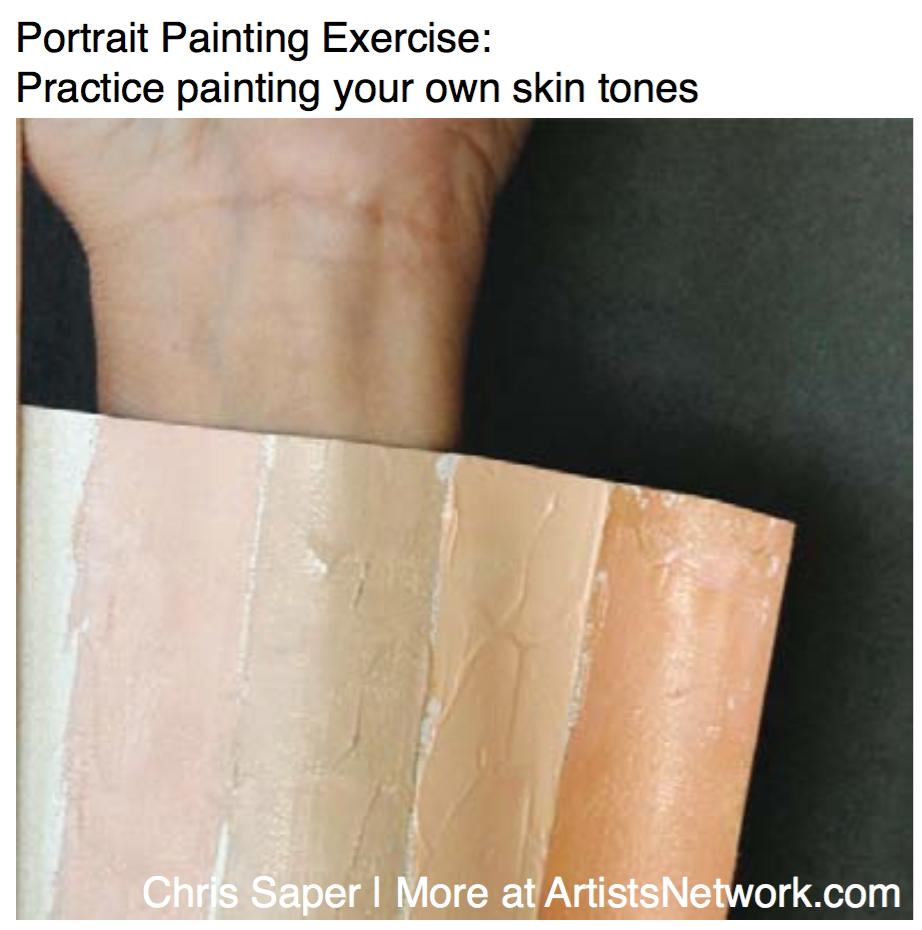 Portrait painting | Chris Saper, ArtistsNetwork.com