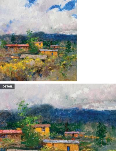 Painting Rocks: Chamisa by Albert Handell  ArtistsNetwork.com
