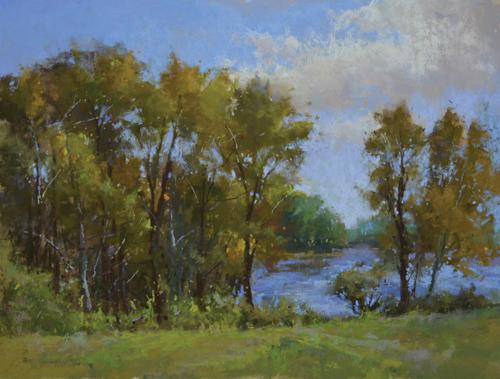 pastel_landscape_Gilsland-Farm-in-September_Jacob_Aguiar | artistsnetwork.com