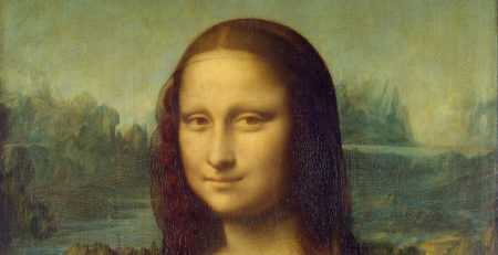The Mona Lisa, Detail shot