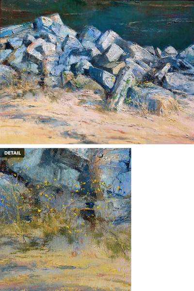 Painting Rocks: Simply Granite by Albert Handell |ArtistsNetwork.com