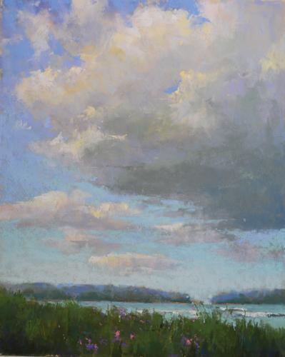 pastel_landscape_Summer_Beach_Jacob_Aguiar | artistsnetwork.com
