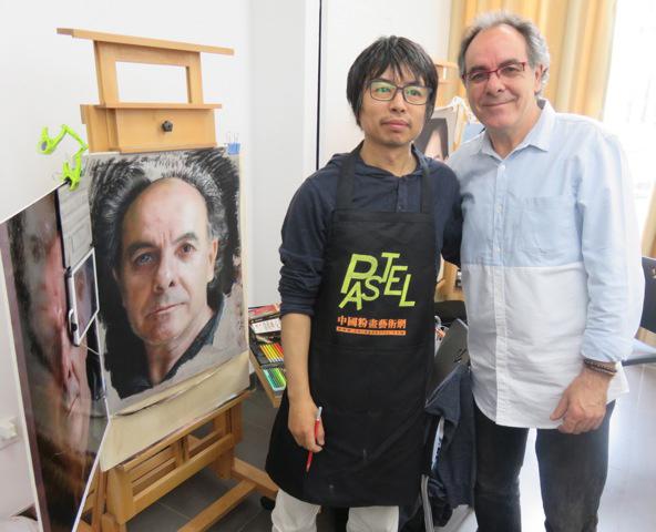 teaching-pastel-in-china-aurelio-lopez