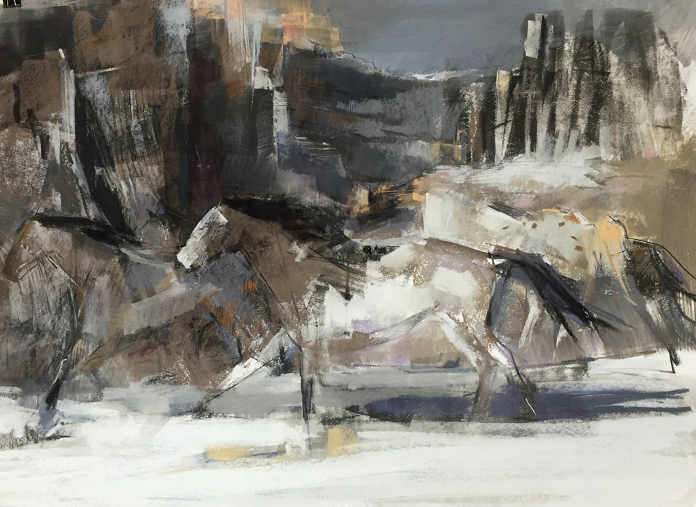 dawn-emerson-horses-in-landscape-pastel-working-differently