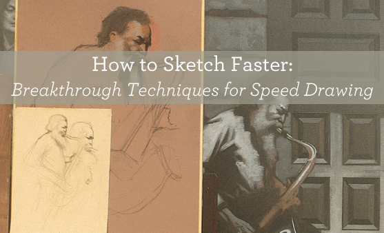 How to sketch faster - amazing drawing tips for speed!