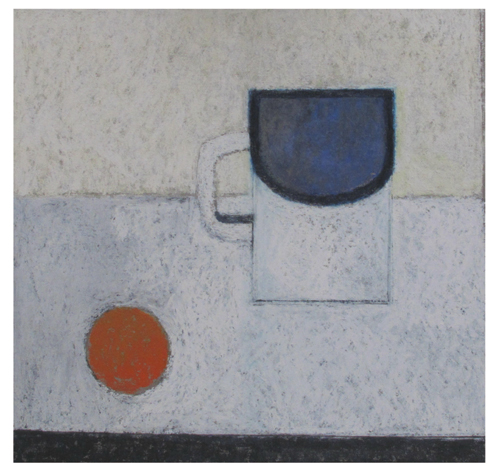 Tin Mug (pastel, 10x11) by Robin Warnes | pastel art