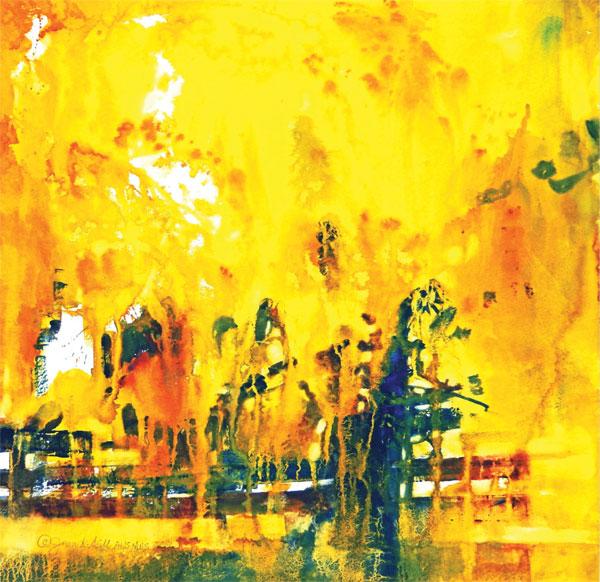 Watercolor landscapes | Jean Gills, ArtistsNetwork.com