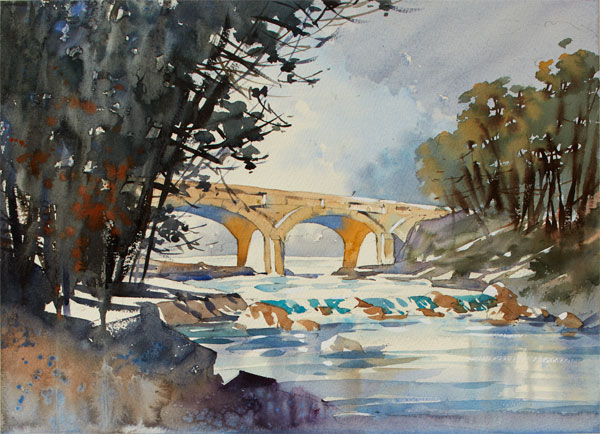 Watercolor landscapes | Thomas W Schaller, ArtistsNetwork.com