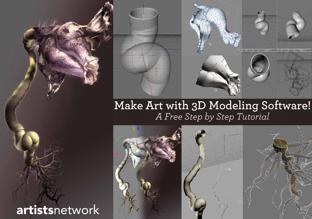Learn free digital art tutorials like these at ArtistsNetwork.com