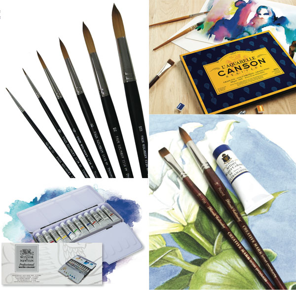 Free watercolor art supplies | ArtistsNetwork.com
