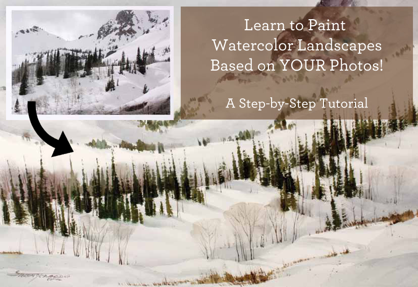 How to paint landscapes: a guide to painting from photos