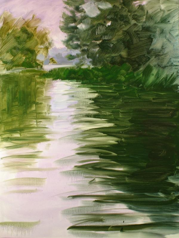 Palette knife painting | Deborah Quinn-Munson