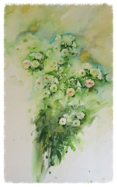 How to paint with watercolor | Jean Haines, ArtistsNetwork.com