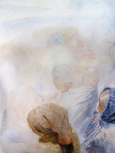 Patricia Guzman step 3 | watercolor portraits