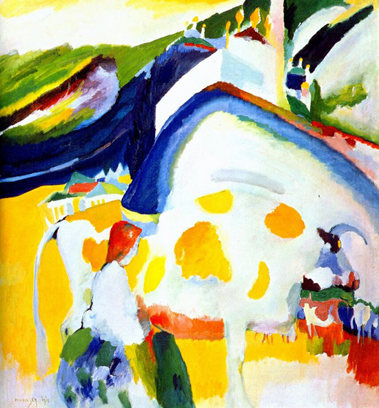 The Cow by Wassilly Kandinsky, 1910.