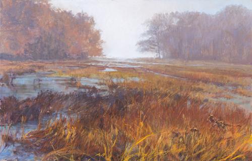 pastel_landscape_Patapsco-Marsh_32x40_Iva-Morris | artistsnetwork.com