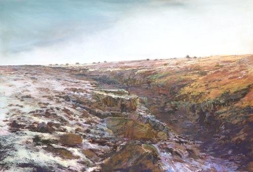 pastel_landscape_Springerville_38x42_Iva-Morris | artistsnetwork.com