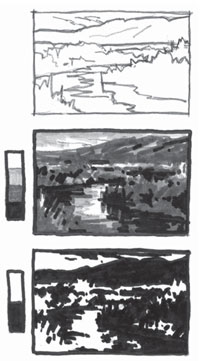 Thumbnail sketches and art tips | Richard McKinley, ArtistsNetwork.com