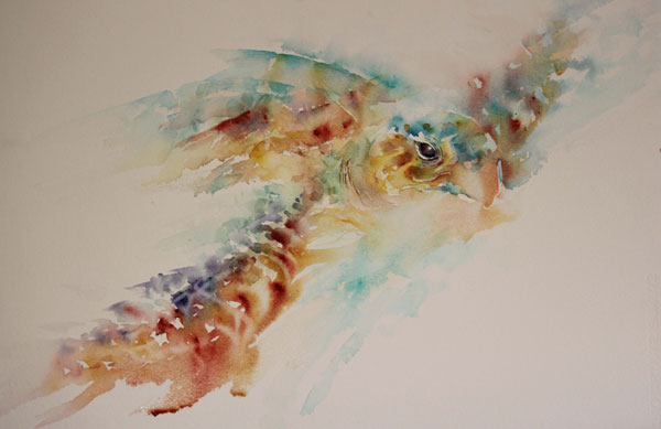 Watercolor painting techniques | Jean Haines, ArtistsNetwork.com