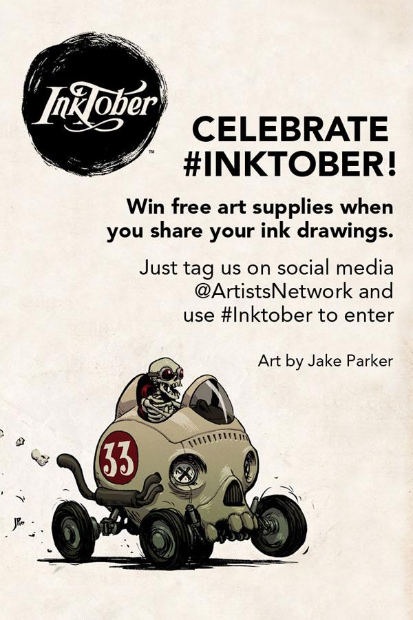 Inktober 2016 | ArtistsNetwork.com