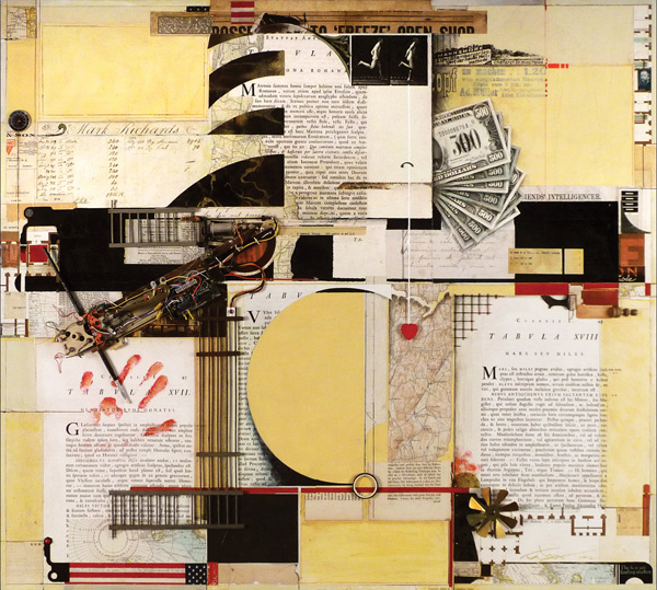 different types of paper collage