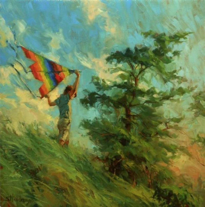 Artistic Process | Oil Painting | Steve Henderson | Artists Network