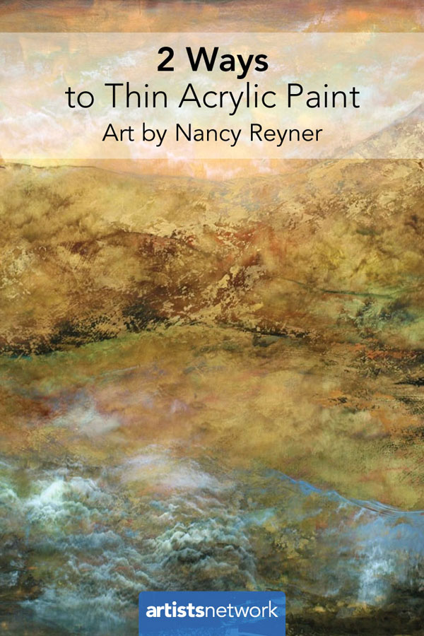 Painting with acrylics for beginners | Nancy Reyner, ArtistsNetwork.com
