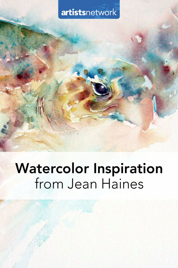 Watercolor painting lesson | Jean Haines, ArtistsNetwork.com