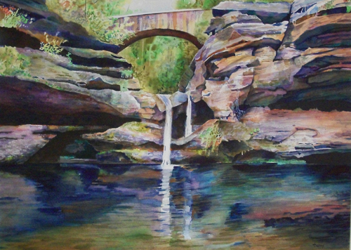Water Under the Bridge by Dan Knepper | up and coming artists