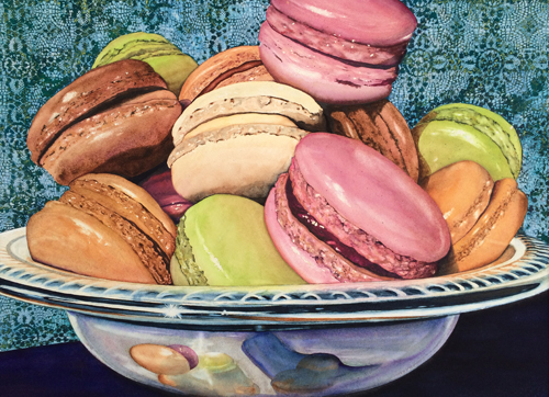 Magnificent Macaroons by Kathy Simon-McDonald | up and coming artists