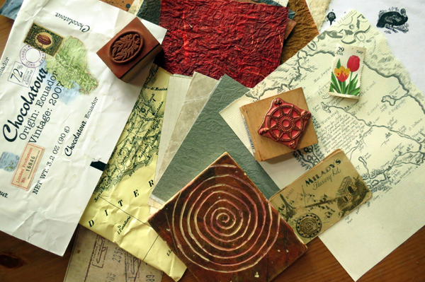ephemera for your sketchbook